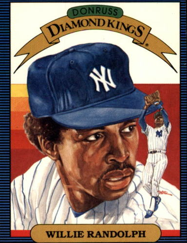 Photo of 1986 Donruss #16 Willie Randolph DK