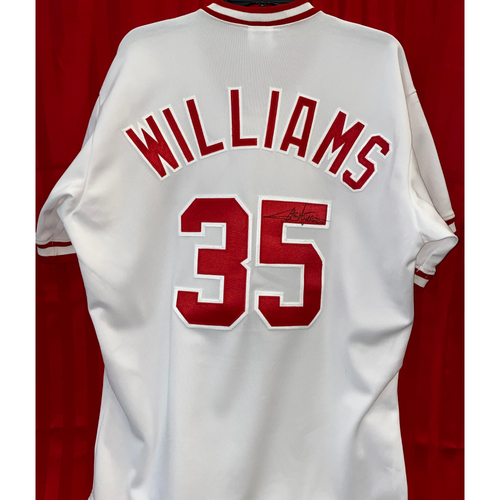 Photo of Stan Williams Signed Jersey