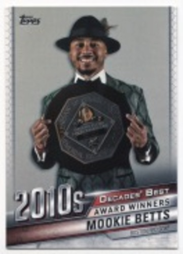Photo of 2020 Topps Decades' Best #DB99 Mookie Betts