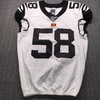 London Games - Bengals Carl Lawson Signed Game Issued Jersey 42 (10/27/19)