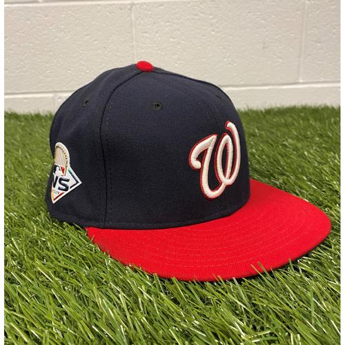 Photo of Fernando Rodney Game-Used 2019 World Series Hat