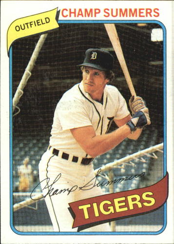 Photo of 1980 Topps #176 Champ Summers