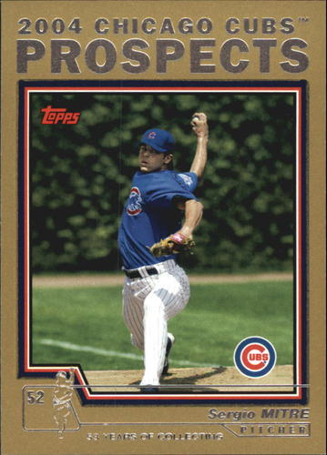 Photo of 2004 Topps Traded Gold #T107 Sergio Mitre PROS