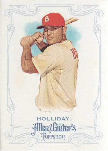 Photo of 2013 Topps Allen and Ginter #125 Matt Holliday