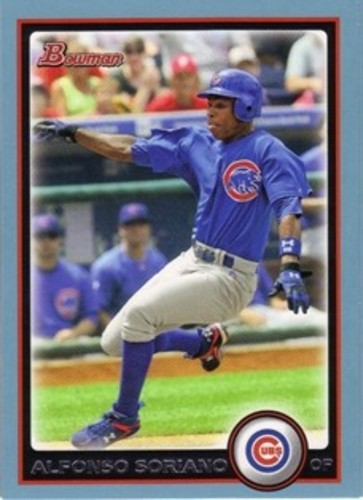 Photo of 2010 Bowman Blue #105 Alfonso Soriano