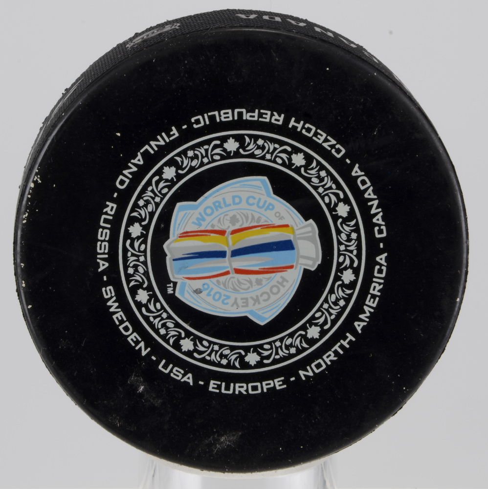 Team Sweden vs. Team Russia World Cup of Hockey 2016 Warm-Up Puck From September 18th Game
