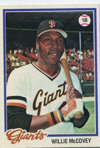 Photo of 1978 Topps #34 Willie McCovey -- Hall of Famer