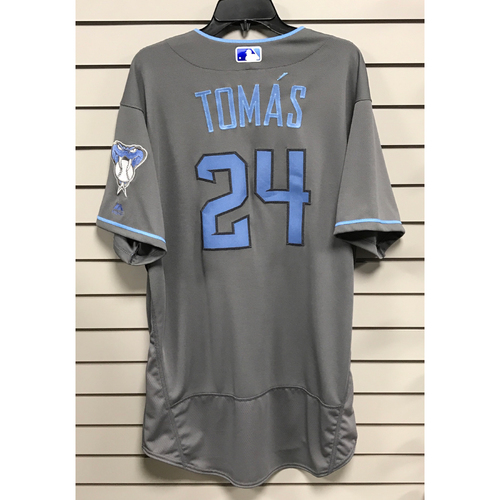 Yasmany Tomas Team-Issued 2017 Father's Day Jersey