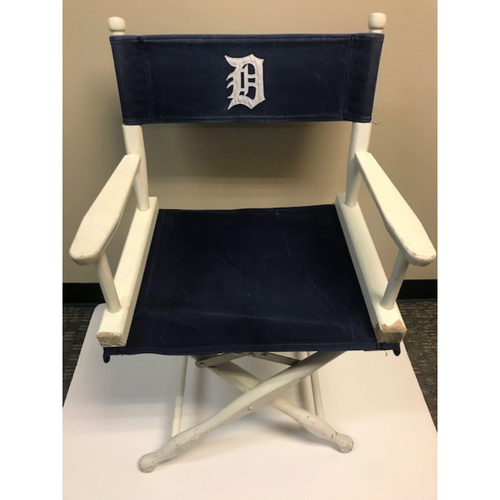 Photo of Tigers Stadium Clubhouse Chairs - Not Authenticated by MLB
