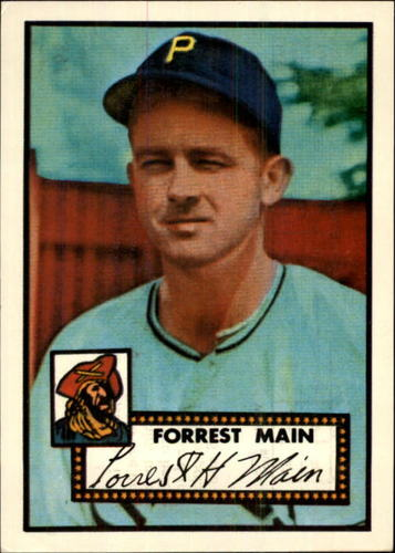 Photo of 1983 Topps 1952 Reprint #397 Forrest Main
