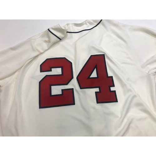 Photo of Game-Used Detroit Stars Jersey: Miguel Cabrera