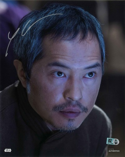 PREORDER Ken Leung As Admiral Statura 8x10 Autographed In Silver Ink Photo