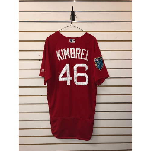 Photo of Craig Kimbrel Team-Issued 2018 Spring Training Jersey