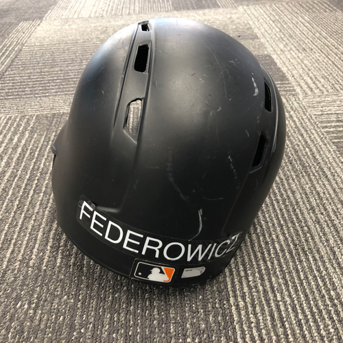 Photo of 2017 Game Used Batting Helmet worn by #43 Tim Federowicz - Size 7 1/4