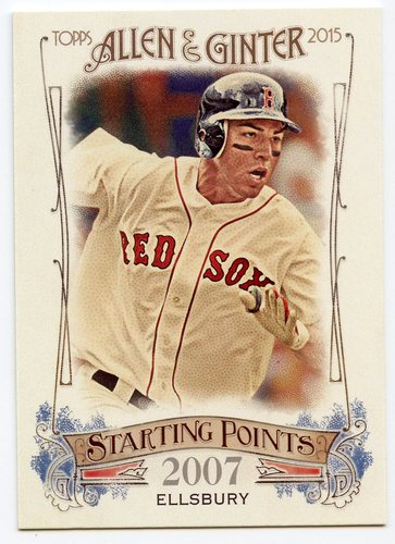 Photo of 2015 Topps Allen and Ginter Starting Points #SP57 Jacoby Ellsbury