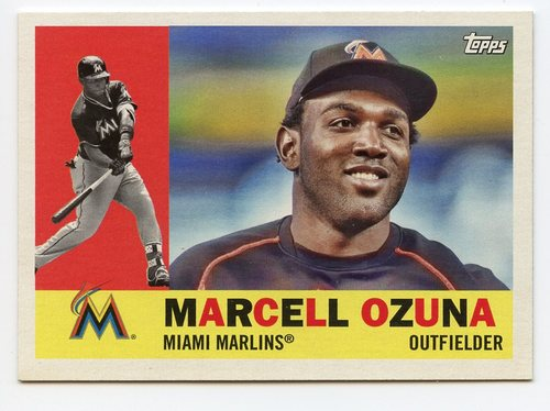 Photo of 2017 Topps Archives #14 Marcell Ozuna