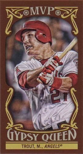 Photo of 2016 Topps Gypsy Queen MVP Minis #MVPMMT Mike Trout