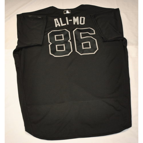 "Photo of Ali ""ALI-MO"" Modami Washington Nationals Team-Issued 2019 Players' Weekend Jersey"