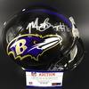 NFL - Ravens Marquise Brown Signed Proline Helmet
