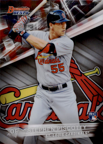 Photo of 2016 Bowman's Best #59 Stephen Piscotty Rookie Card
