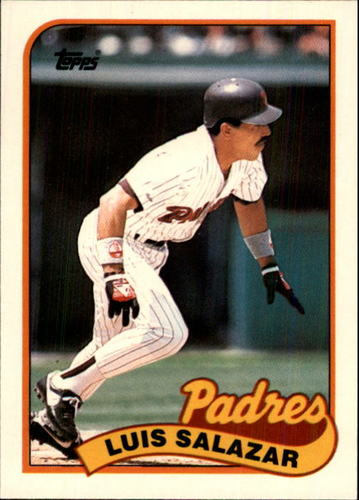 Photo of 1989 Topps Traded #107T Luis Salazar