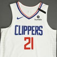 Patrick Beverley - Los Angeles Clippers - Game-Worn Association Edition Jersey - 1 of 2 - 2019-20 NBA Season