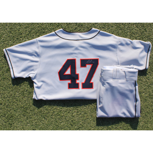 Team-Issued Stars Jersey & Team-Issued Pants: Rangel Ravelo #47 (STL @ KC 9/22/20) - Size 48