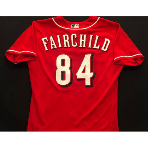 Photo of Stuart Fairchild -- 2020 Spring Training Jersey -- Team-Issued -- Size 44