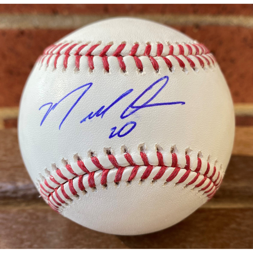 Photo of Marcell Ozuna MLB Authenticated Autographed Ball