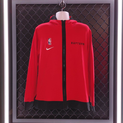 2020-21 Player Worn Red Showtime On-Court Tracksuits