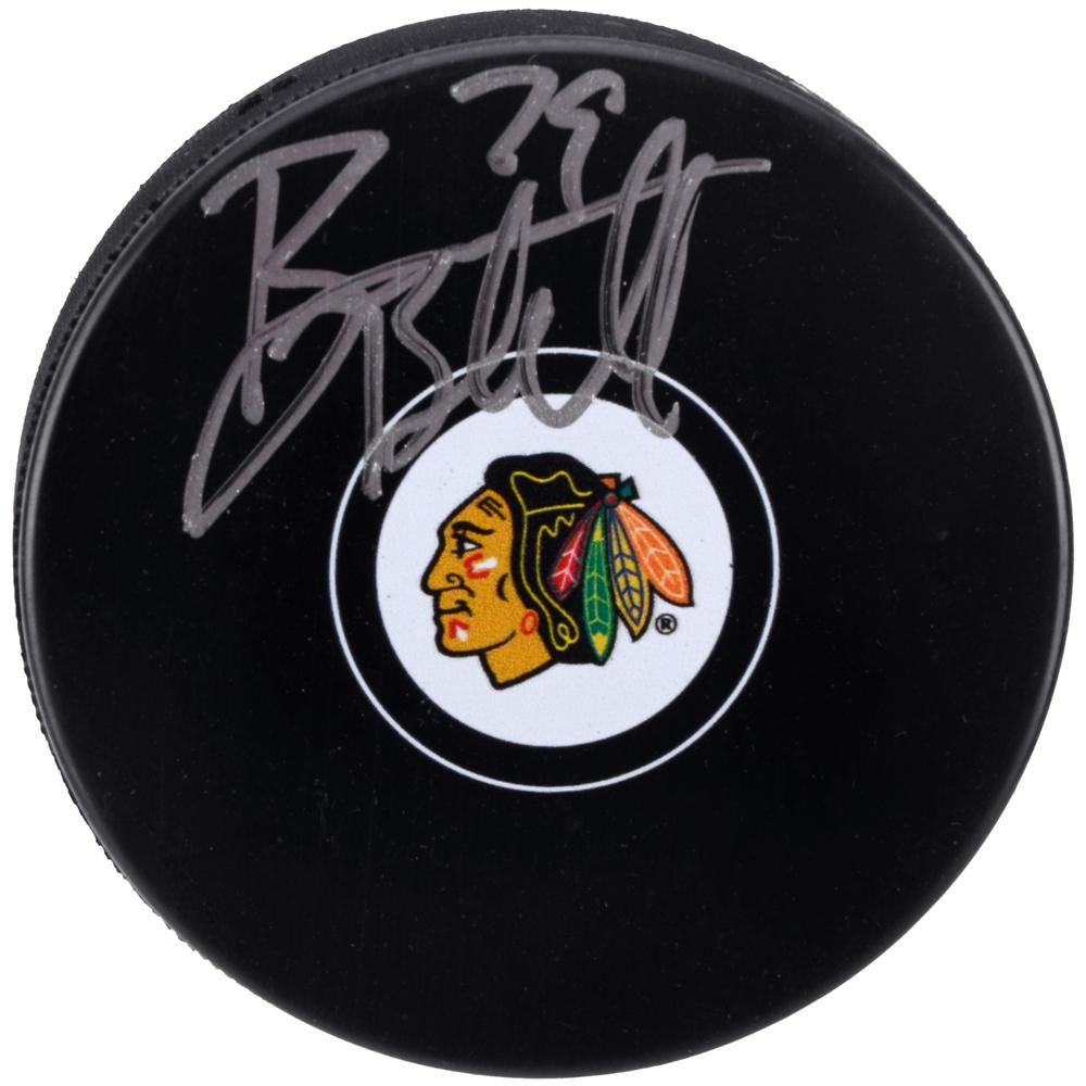 Bryan Bickell Chicago Blackhawks Autographed Hockey Puck