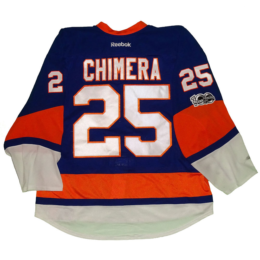 Jason Chimera - Game Worn Home Jersey - 2016-17 Season - New York Islanders