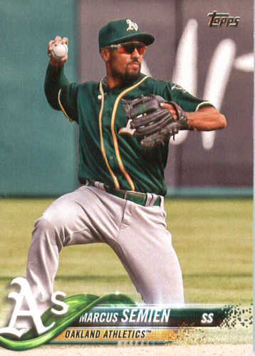 Photo of 2018 Topps #198 Marcus Semien