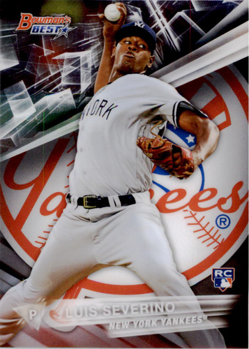 Photo of 2016 Bowman's Best #6 Luis Severino Rookie Card