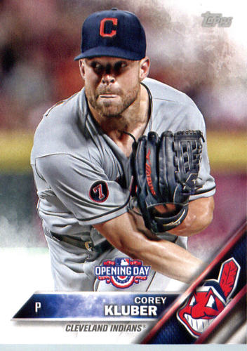 Photo of 2016 Topps Opening Day #OD93 Corey Kluber
