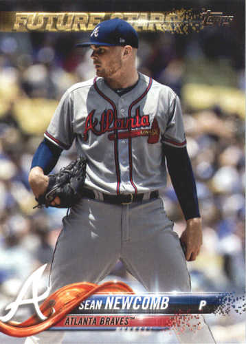 Photo of 2018 Topps #607 Sean Newcomb FS