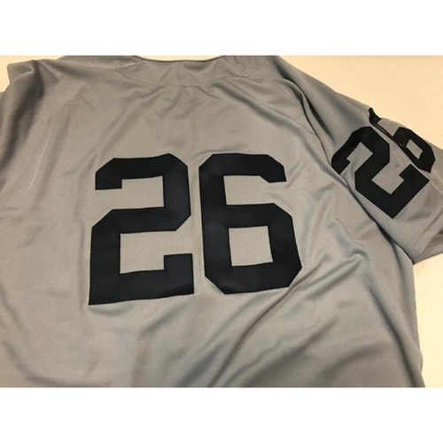 Photo of Team-Issued 1968 World Series 50th Anniversary Jersey: Zac Reininger
