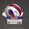 Bills - Preston Brown signed Bills mini helmet