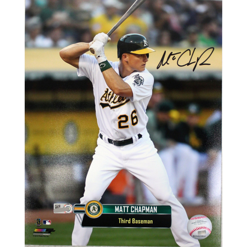 "Photo of Matt Chapman Autographed 8""x10"" Photo"