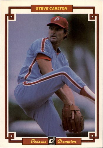 Photo of 1984 Donruss Champions #38 Steve Carlton