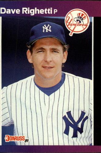 Photo of 1989 Donruss #78 Dave Righetti