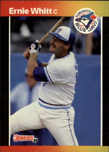Photo of 1989 Donruss #591 Ernie Whitt DP