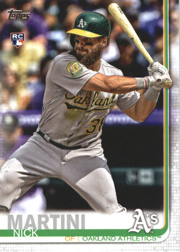 Photo of 2019 Topps #618 Nick Martini RC