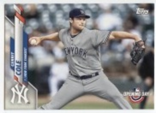 Photo of 2020 Topps Opening Day #21 Gerrit Cole