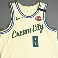 Wesley Matthews - Milwaukee Bucks - Game-Worn City Edition Jersey - 2019-20 NBA Season Restart with Social Justice Message