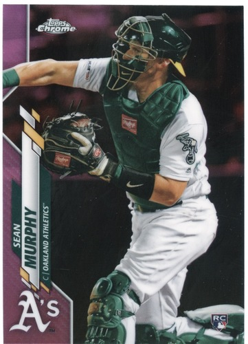 Photo of 2020 Topps Chrome Pink Refractors #32 Sean Murphy
