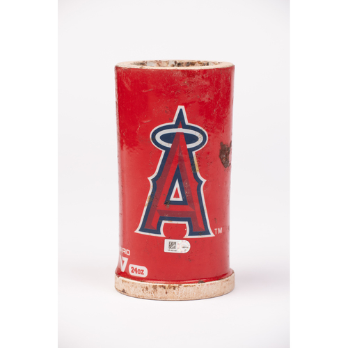 Photo of Mike Trout 2020 Team Issued Bat Weight