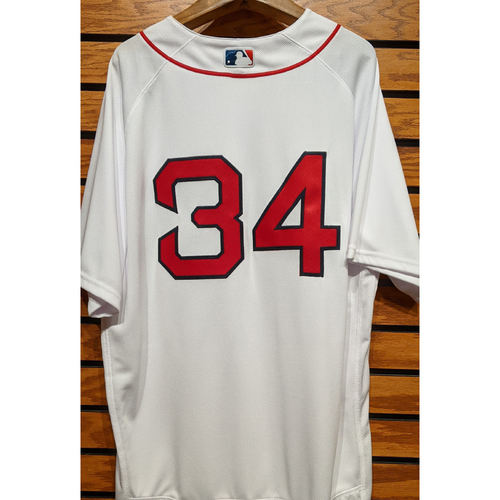 Photo of #34 Team Issued Home White Jersey