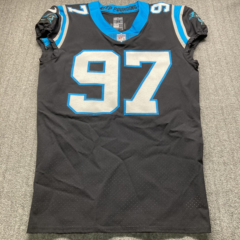 STS - Panthers Yetur Gross-Matos Game Used Jersey (11/15/20) Size 42