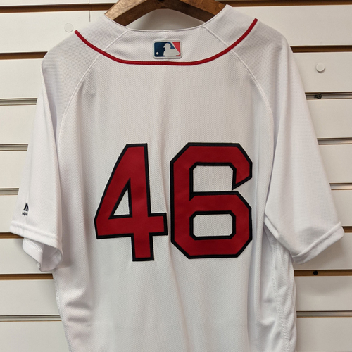 Photo of Craig Kimbrel #46 Team Issued Home White Jersey
